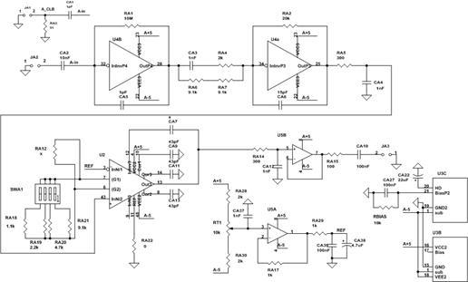 Упрощенная электрическая схема